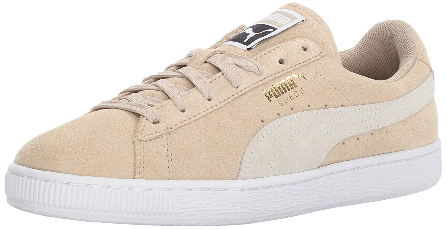 5940711f137b PUMA Womens Suede Classic Fabric Low Top Lace Up Fashion Sneakers