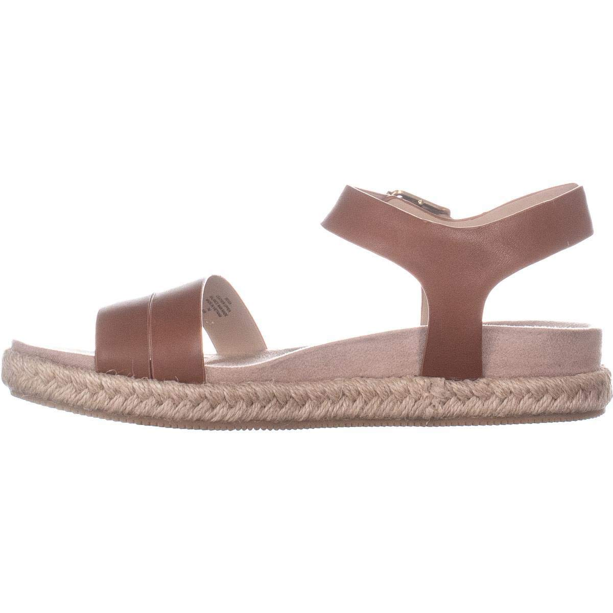 6d026a97292 Easy Spirit Womens Ixia Leather Open Toe Casual Espadrille Sandals ...