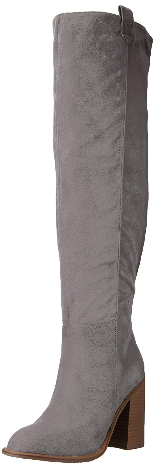 3242eb868d5 Very Volatile Womens nate Fabric Almond Toe Over Knee Fashion