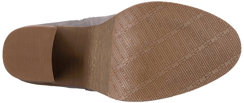 3242eb868d5 Very Volatile Womens nate Fabric Almond Toe Over Knee Fashion