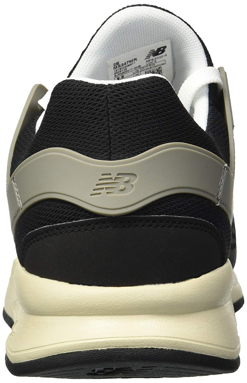 New Balance Men's 247v2 Sneaker, Black Bone, Size 7.0 7.0 7.0 c93948