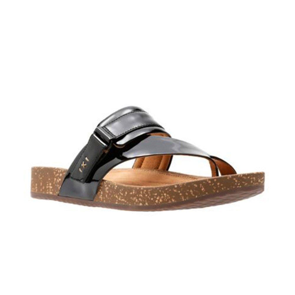Details about CLARKS Rosilla Durham Women's Sandal, Black, Size 7.5