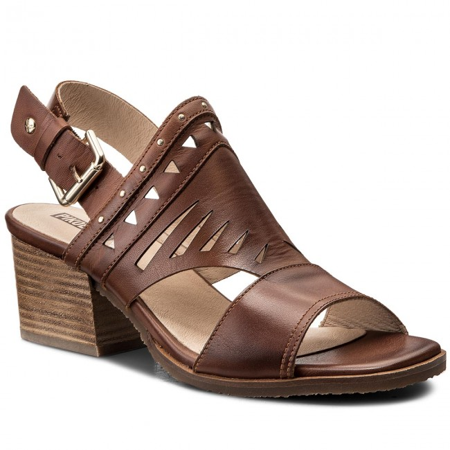 fbec822a2ba Pikolinos Womens W6T-1652 Leather Open Toe Casual Slingback Sandals ...