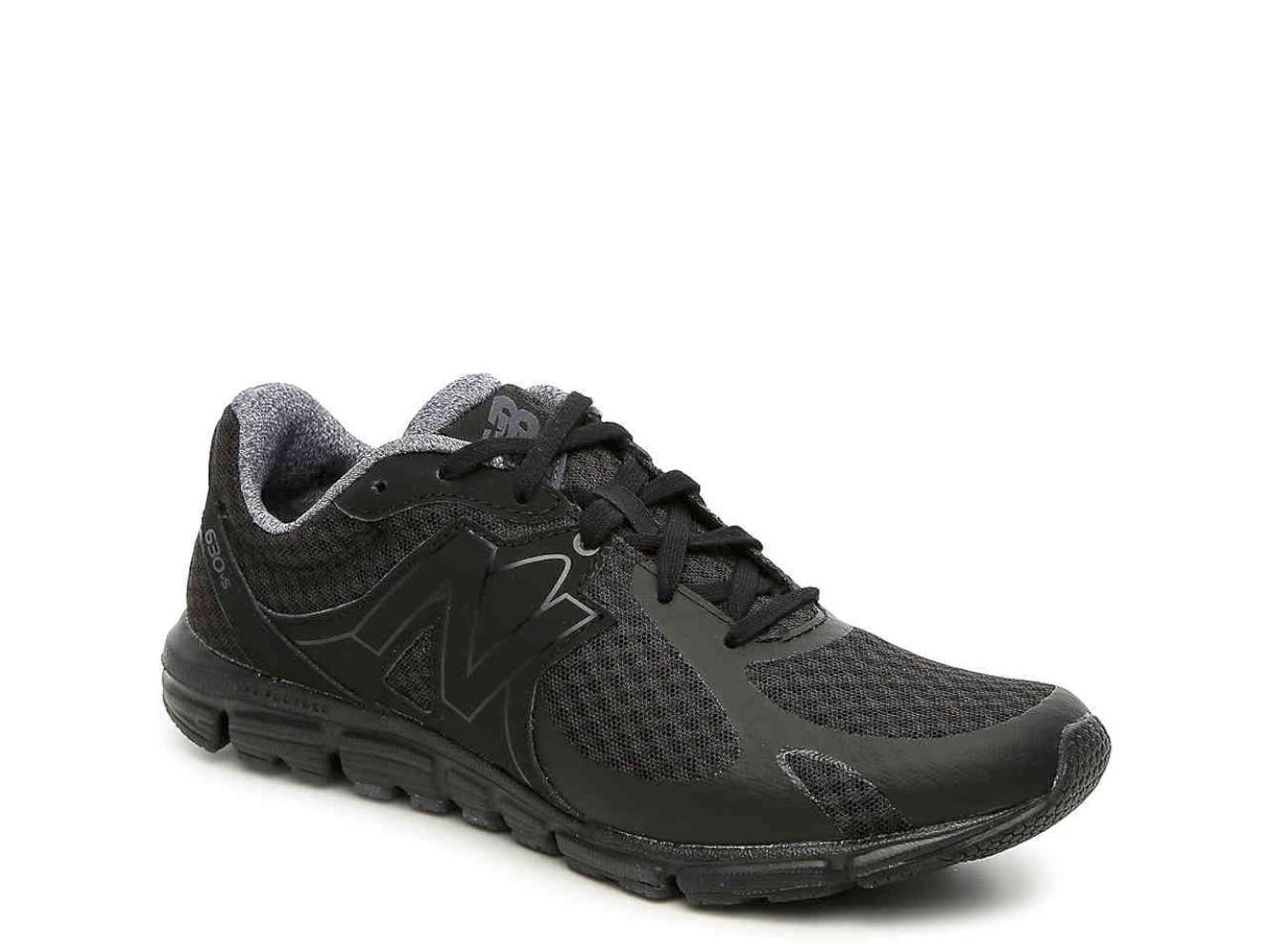 New Balance Womens w630cb5 Fabric Low Top Lace Up Running Black/black Size 6.0