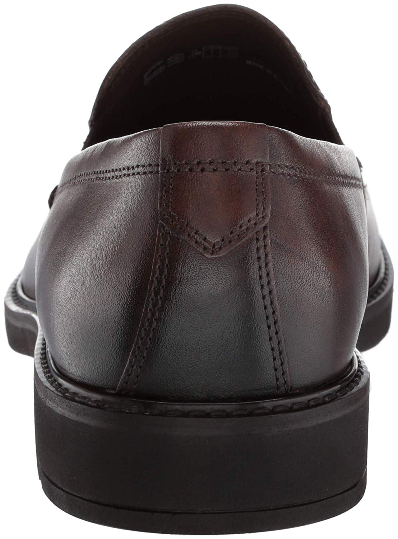ECCO-HOMME-Vitrus-III-Moc-CLOSED-Toe-Slip-On-Chaussures-cacao-marron-taille-10-0-CU7v-U miniature 2