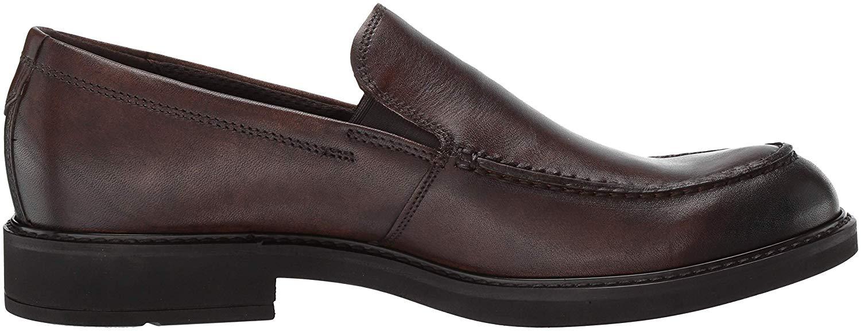 ECCO-HOMME-Vitrus-III-Moc-CLOSED-Toe-Slip-On-Chaussures-cacao-marron-taille-10-0-CU7v-U miniature 5