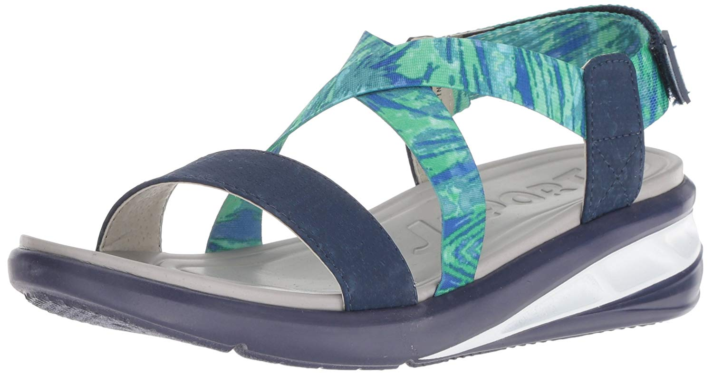 f543e307194 JSport by Jambu Women s Sunny Wedge Sandal
