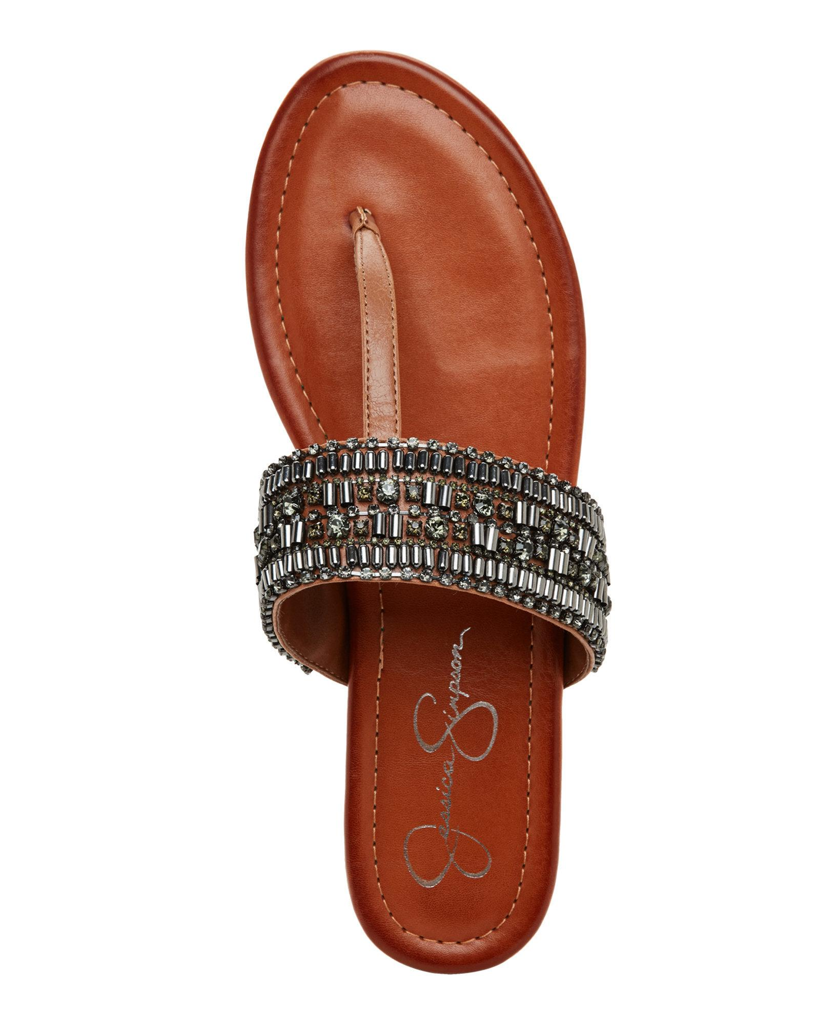 Jessica Simpson Womens Rollison Open Sandals Toe Beach Slide Sandals Open 3b048e