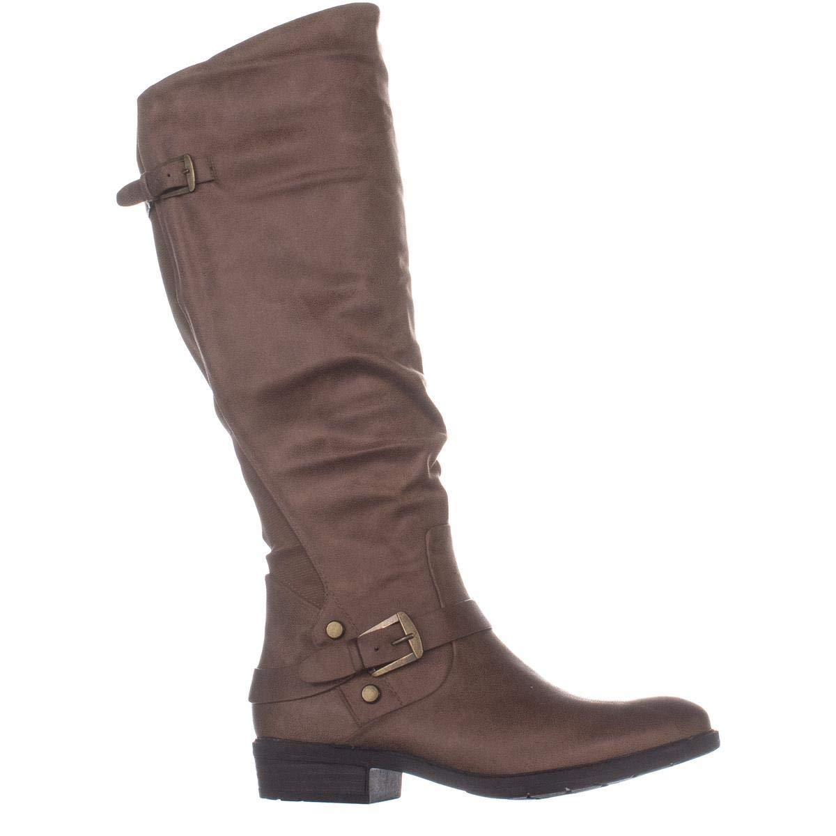 Fashion Yanessa Traps Bare Toe Almond Womens High Boots Knee x0waZgn