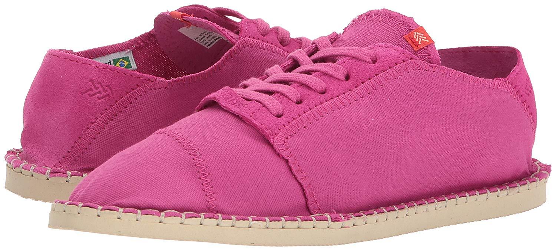 a91c23977c2c Havaianas Womens Origine Sneaker III Espadrille Canvas Low Top Lace ...