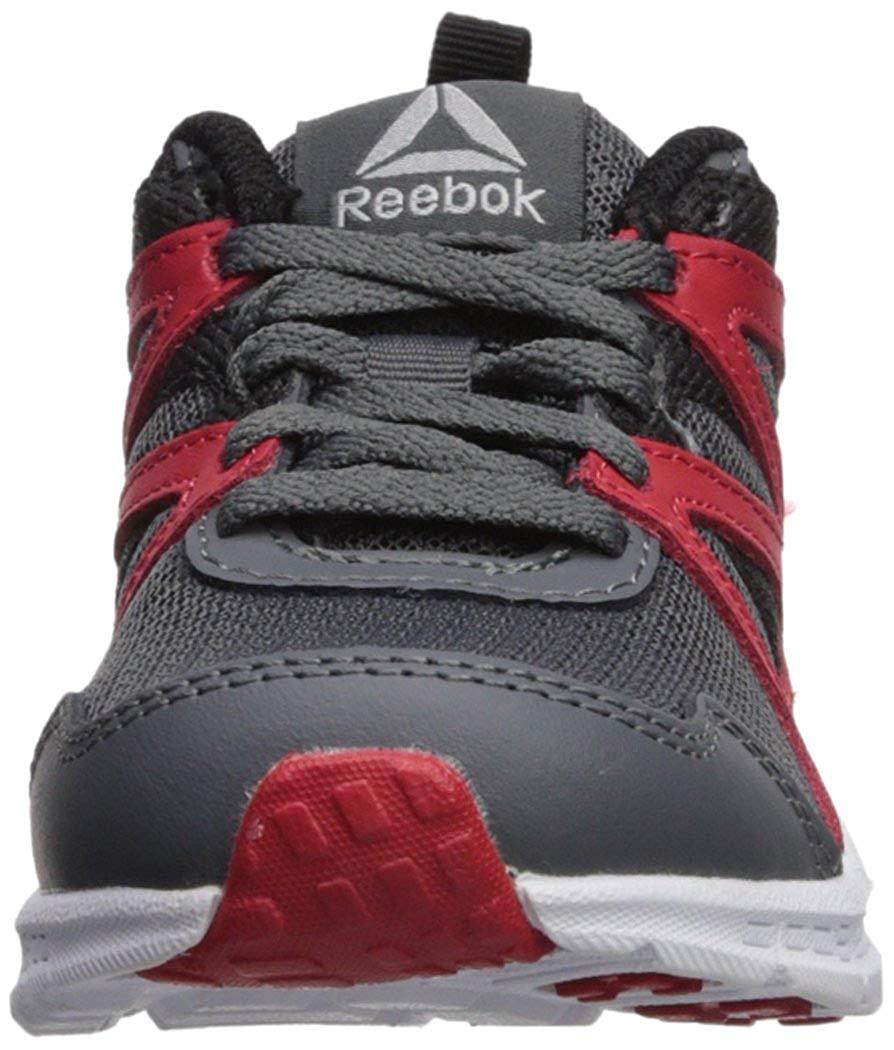 451e5fade Reebok Kids' Run Supreme 2.0, Alloy/Primal Red/Black, Size 6 M US ...