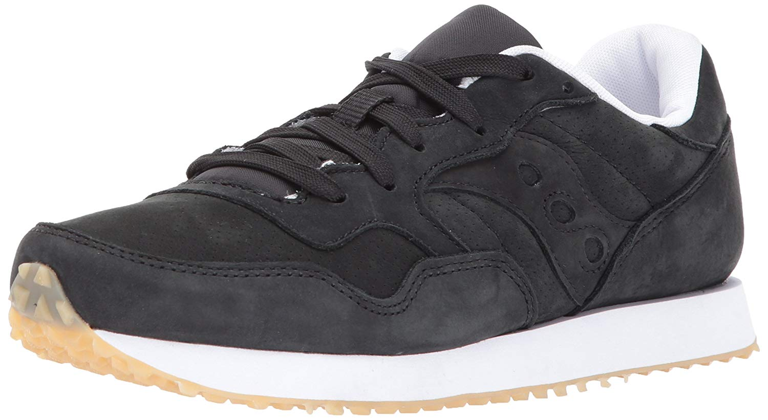 99d823433816ae Saucony-Womens-dxn-trainer-Low-Top-Lace -Up-Fashion-Sneakers-Black-d9f8b9d690fa7e.jpg