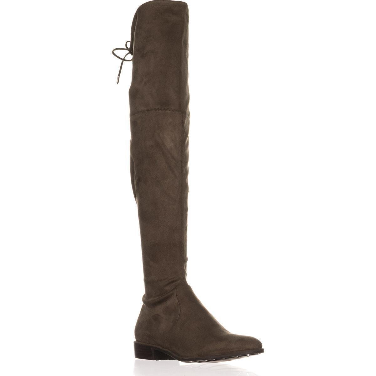 79e38a4fd88 Details about Marc Fisher Womens HUMOR2 Almond Toe Over Knee Fashion Boots