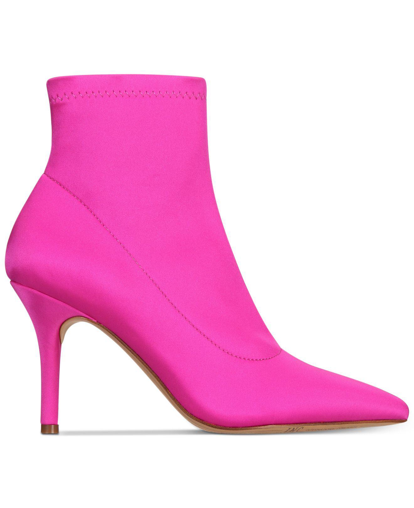 d8df1e1b43c1 INC International Concepts Womens Zetef Pointed Toe, Deep Fuchsia ...