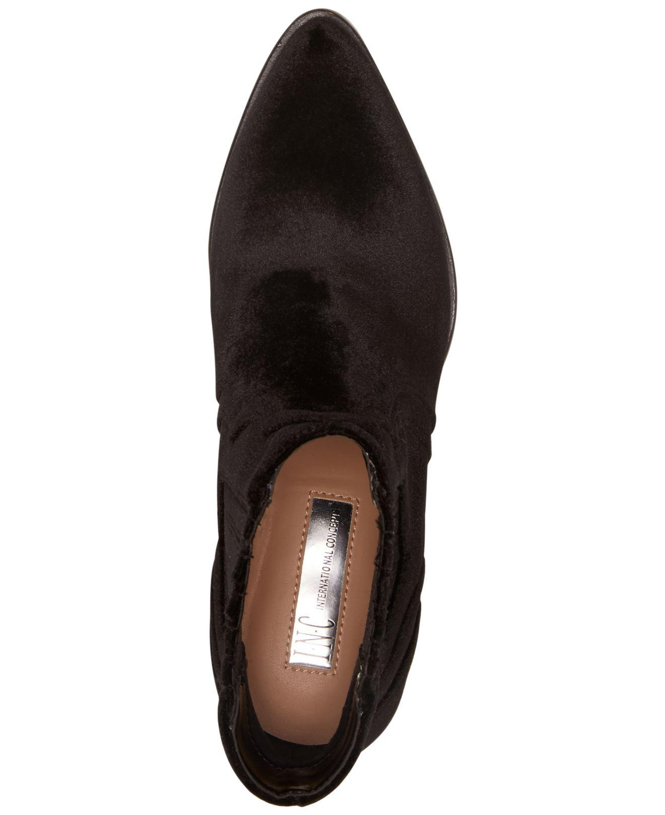 INC Pointed International Concepts Mujer andriaa Pointed INC Toe Ankle Chelsea Botas 050e0f