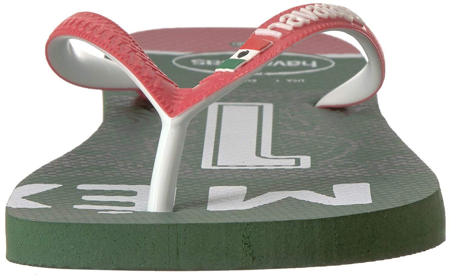 4f0df67d3 Havaianas Unisex Teams III - Mexico Sandal