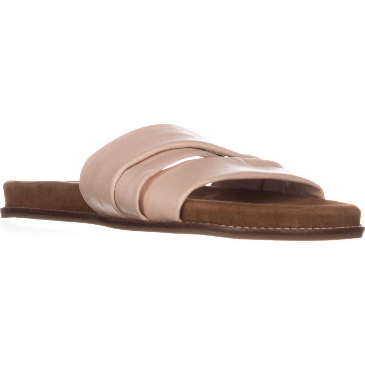 Callisto Damenschuhe Perfect Leder Open Toe Casual Slide Sandales, ... Beige ... Sandales, 66c9af