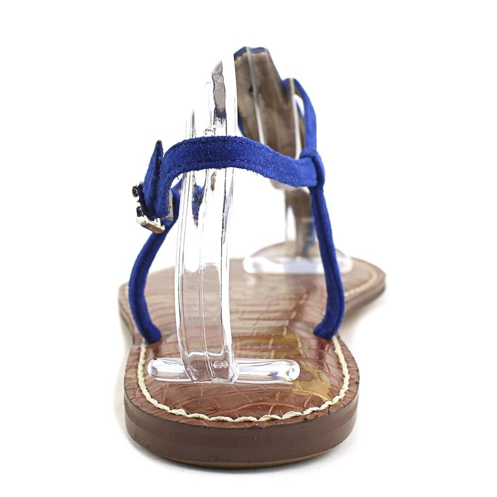 a59252461 Sam Edelman Womens GiGi Split Toe Casual Ankle Strap Sandals