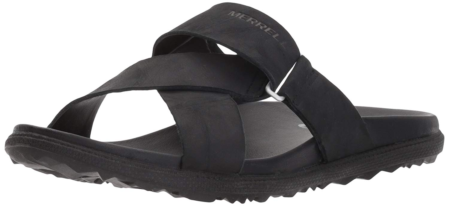 a1d9855fdf6c Details about Merrell Women s Around Town Sunvue Slide Sandal