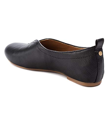 Lucca Lane Womens Bayla Leather Closed Toe Ballet Flats