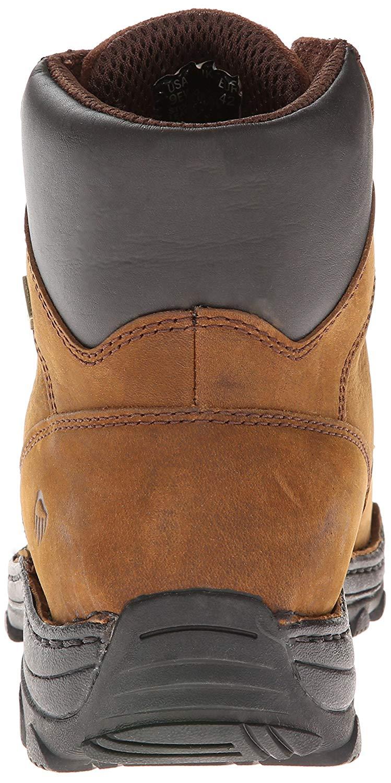 cf5fd97d53d Details about Wolverine Men's Durbin Waterproof Steel- Toe Brown Boots,  Brown, Size 10.5 oJfn