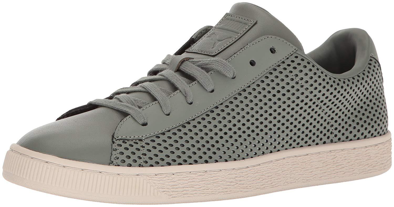 PUMA Men s Basket Classic Summer Shade Fashion Sneaker 33ac09a94539f