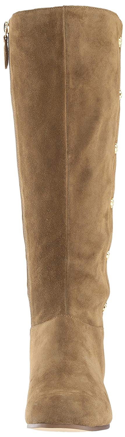 61313bdd640 Nine West Womens Oreyan Leather Round Toe Knee High Fashion Boots