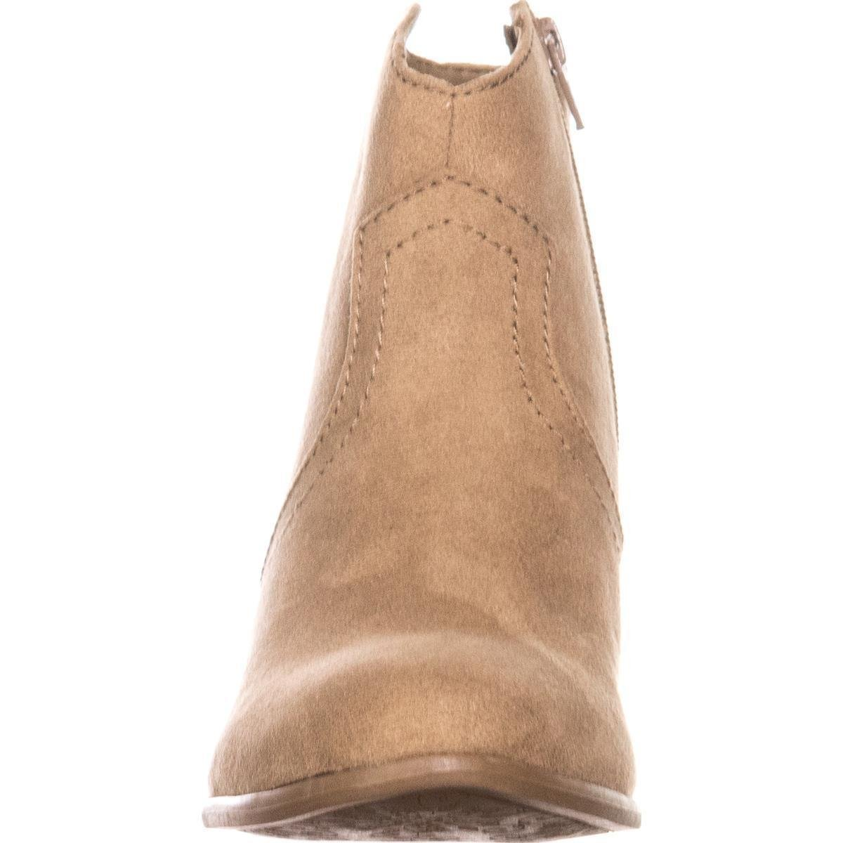 botas American Toe mujer Rag para de Almond moda tobillo Rylie R0rRwq
