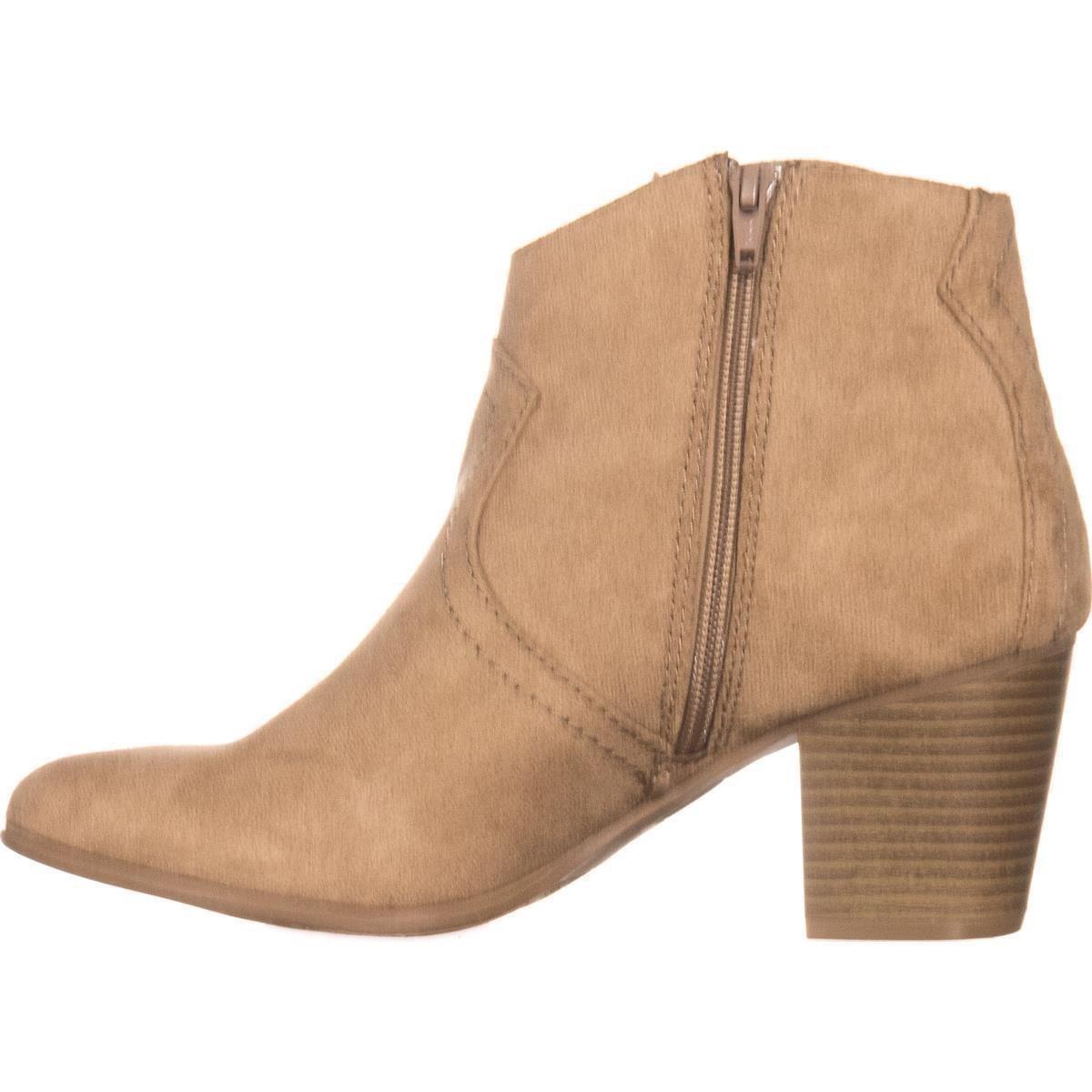 Toe American botas moda Almond Rylie tobillo para mujer Rag de xnxr17