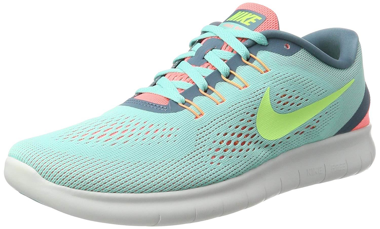 6720dfa3f8633 Nike Womens Free RN Low Top Lace Up Running Sneaker