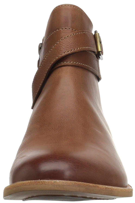 Details about CLARKS Women's Maypearl Edie Ankle Bootie, Dark Tan, Size 8.0 RRw3