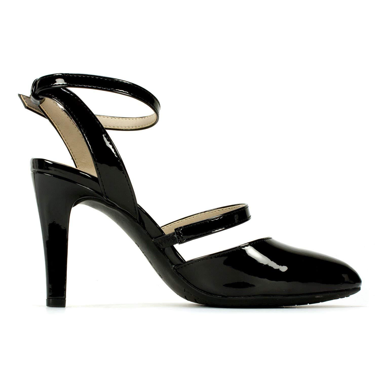 737c40b95f02 Rialto Womens Calina Almond Toe Special Occasion Slingback Sandals ...