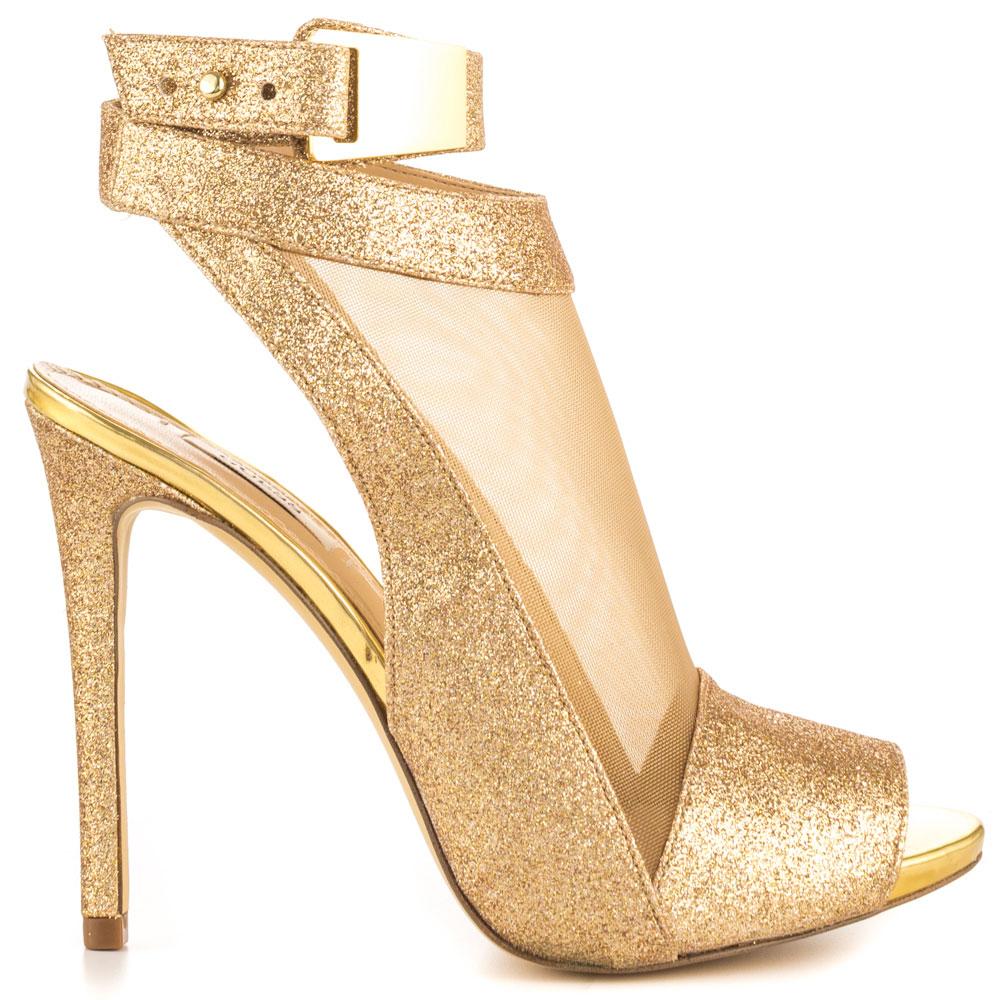 GUESS Bombas Para Mujer Highheels stilettos Gold (EUR 38,5, Gold)