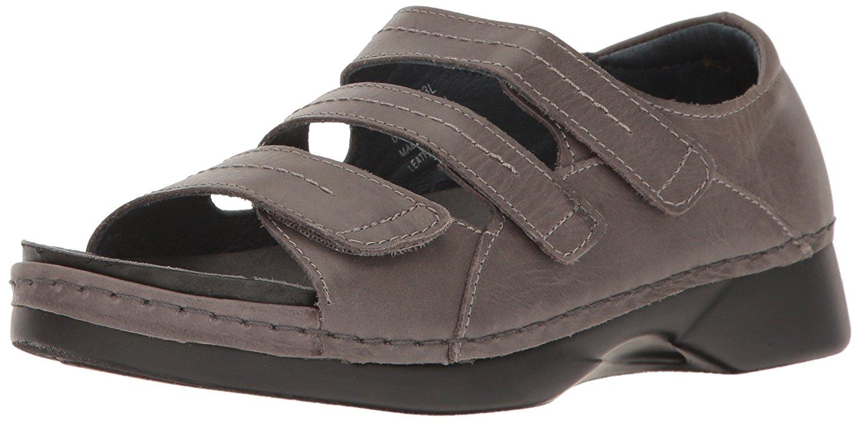 Propt Womens Vitawalker Platform Dress Sandal Grey Size 75
