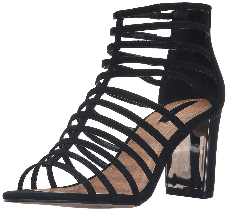 Tahari Womens TAArrive Gladiator Sandal Black Size 65