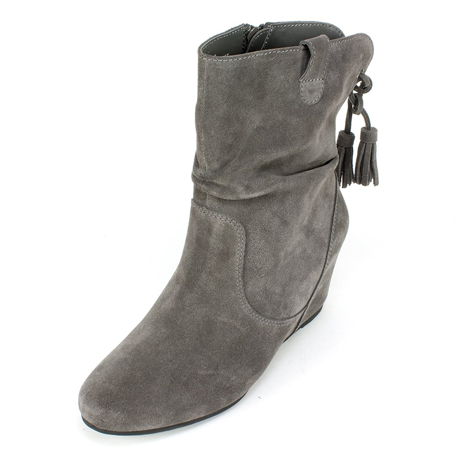 Womens Perfect Closed Toe Ankle Fashion Boots