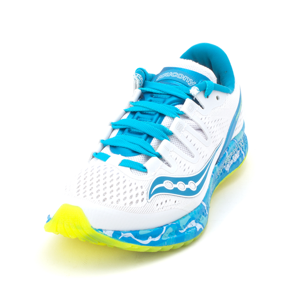 8604947093e4 Saucony Womens Freedom ISO Low Top Lace Up Running Sneaker