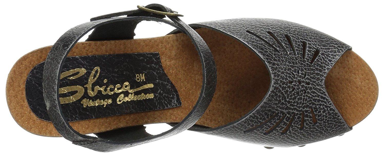 6d0f1a1f4cf Sbicca Womens LANGSA Peep Toe Casual Platform Sandals