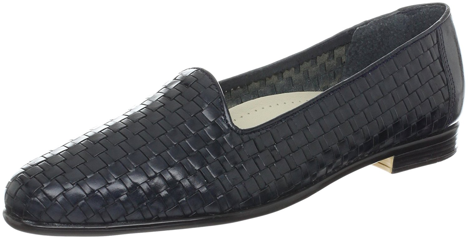 75230729e52 Trotters Womens Liz Leather Closed Toe Loafers