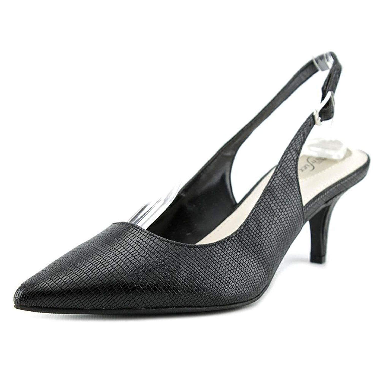 Alfani Damenschuhe Babbsy schwarz Pointed Toe SlingBack Classic Pumps, schwarz Babbsy ... 96690c