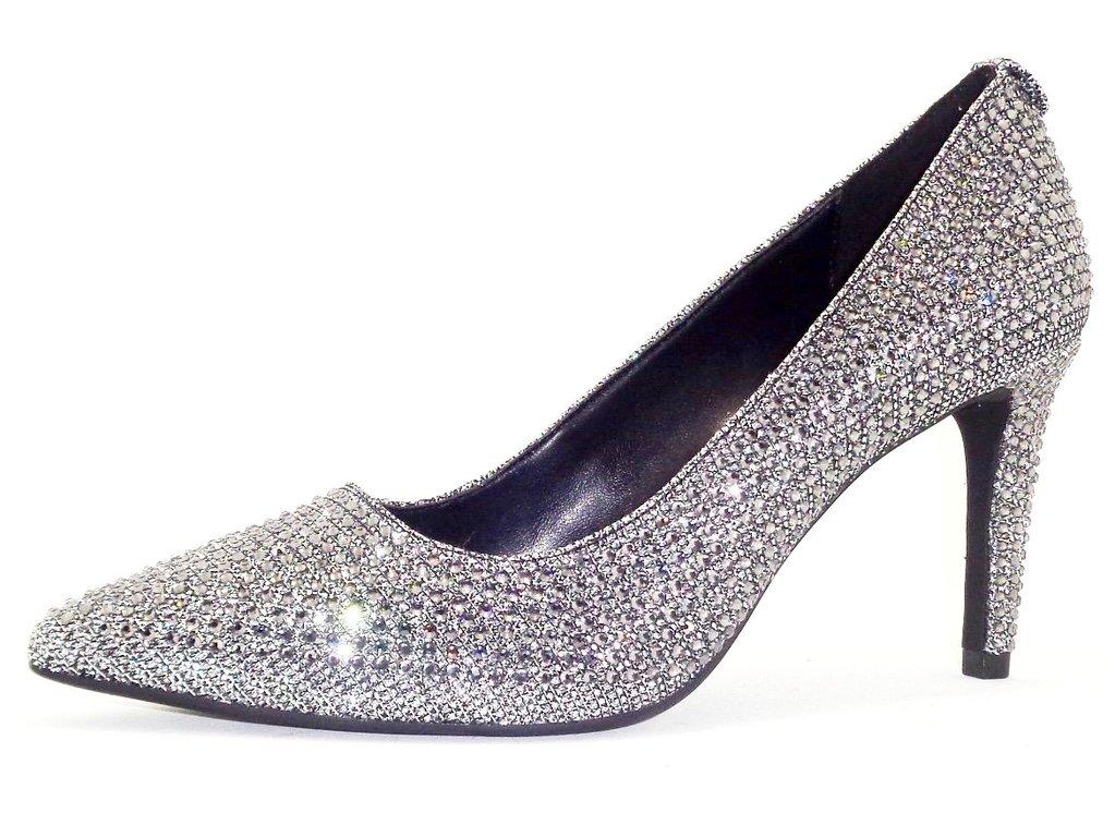 857a41230c Michael Kors Womens Dorothy Flex Pump Leather Pointed Toe Classic Pumps