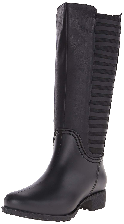 069e0ce43407 Dav women lexington rain shoe black size ebay jpg 829x1500 Dav boots