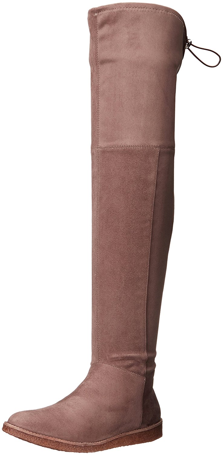 BCBGeneration Women's Brennan Slouch Boot Taupe Size 9.5