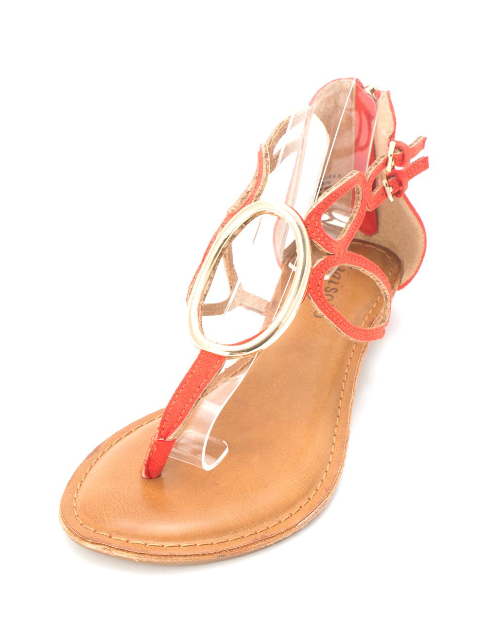 80aa49a21b5 ZIGI SOHO Womens Markah Open Toe Casual Strappy Sandals