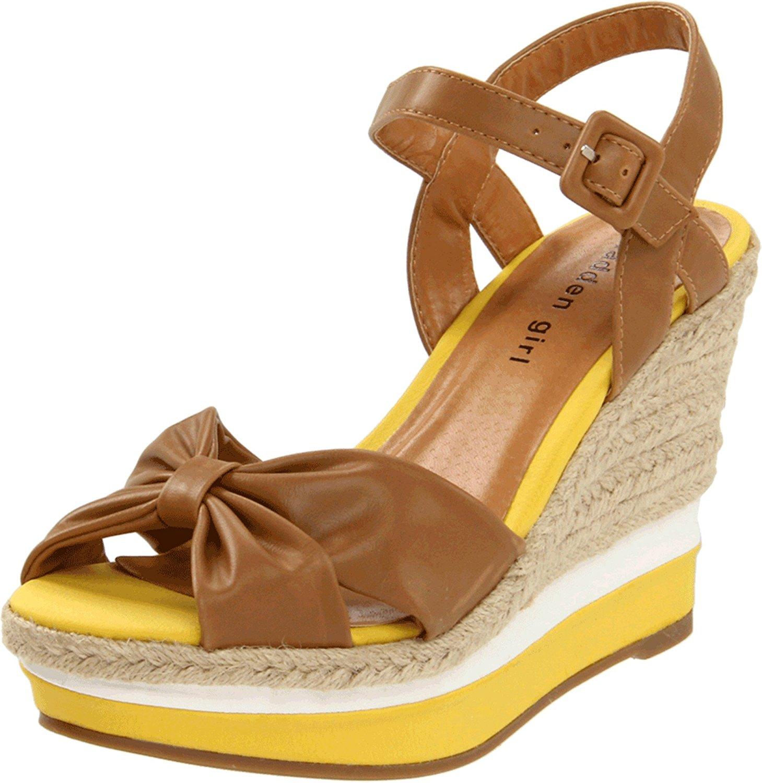 Zapatos amarillos formales para mujer p42V79