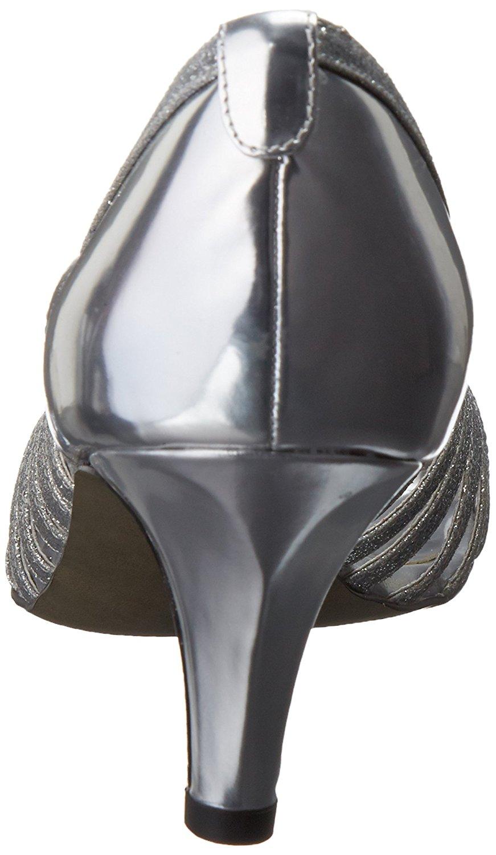 Silver tacco Sparkle Us Easy Street con Glitter 8 Sandali 885660459876 Uk 6 Womens XqBwqY