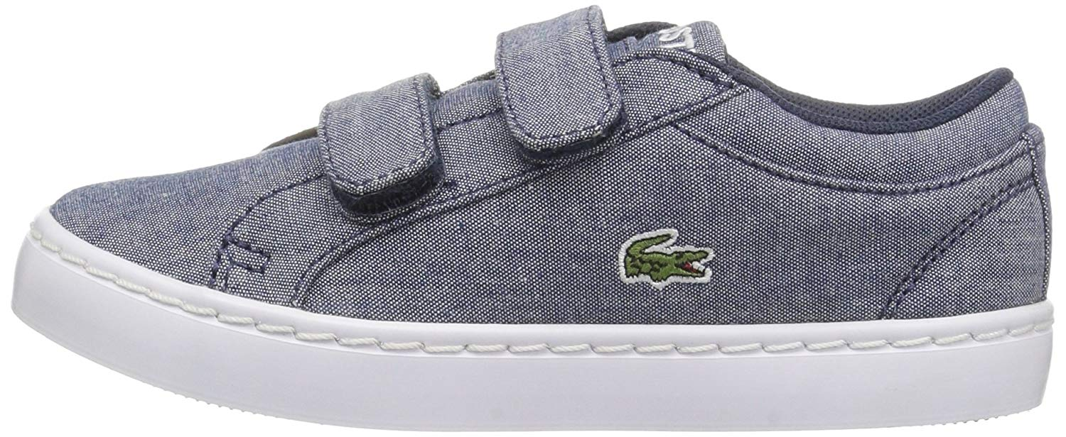 Details Boy Canvas About Straightset Lacoste Lace Sneakers Baby UVzSqMpG