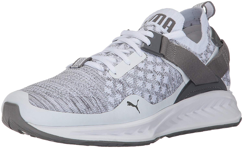 Running + Training – Puma IGNITE evoKNIT 2 Men's Running Shoes Mens Puma White Quarry