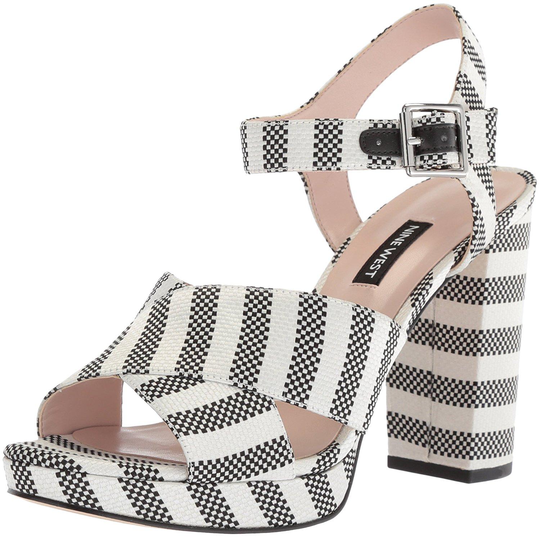 6a61880834ac Nine West Women s Jimar Fabric Heeled Sandal