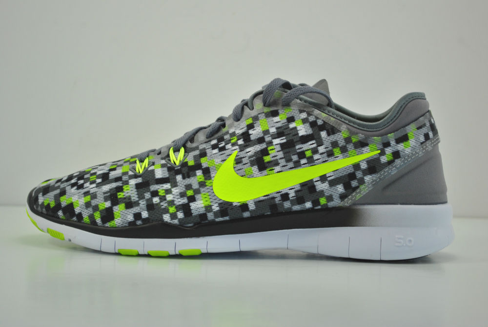 554b4a92209d1 Nike Womens Free 5.0 Tr Fit 5 Prt Low Top Lace Up Running Sneaker